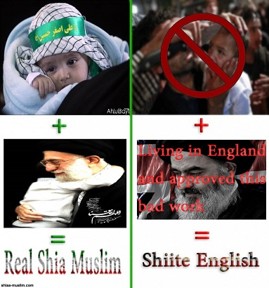 Shia Muslims and Shiite English