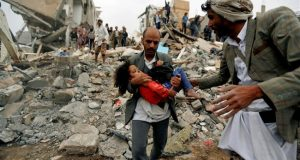 Saudi-led coalition hides information about illegal airstrikes on Yemen HRW