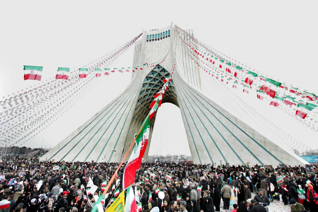 Azadi Tower-shia muslims