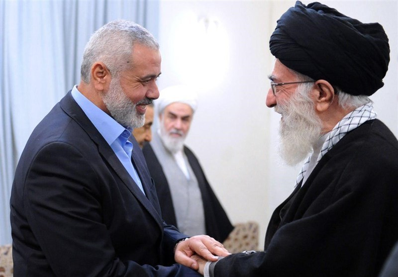 Haniyeh stresses Imam Khamenei's role in backing Quds-The Next World thenextworld.ir