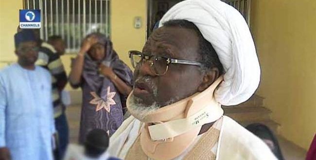 EXCLUSIVE: Sheikh Zakzaky makes first public appearance since detention in 2015