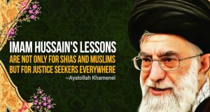 Imam Hussain's lessons not only for Muslims, but for justice seekers everywhere