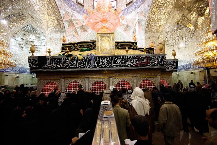 Prayers are fulfilled by the tomb of Hussain Ibn Ali (a.s.)