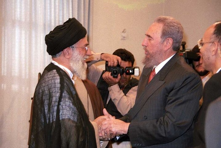 The reason the US couldn't do anything to Castro was that he relied on the people: Imam Khamenei