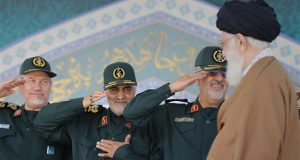 General Soleimani congratulates Leader of Islamic Ummah and Oppressed Imam Ali Khamenei on victory over Daesh