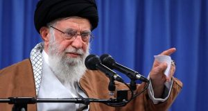 Emmanuel Macron is either naive or an accomplice of the U.S.: Imam Khamenei