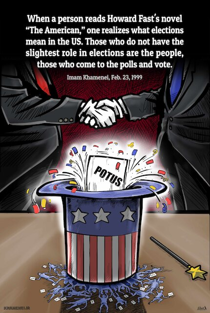 The people have no role in US elections